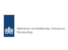 Ministerie van Onderwijs Cultuur en Wetenschap logo