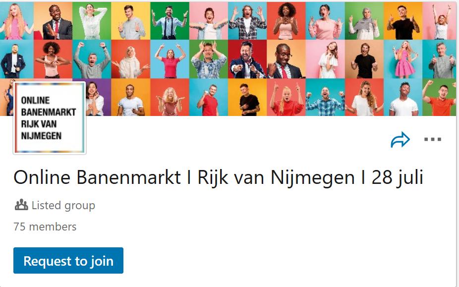 Coronaproof online banenmarkt in Rijk van Nijmegen